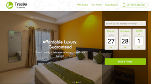 Treebo hotels Raised $34M for its hotel network