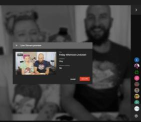 Youtube lets you go live from your desktop