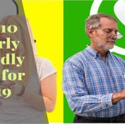 Top 10 Elderly Friendly Apps for 2019