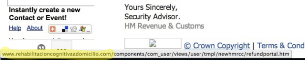 HMRC Spam