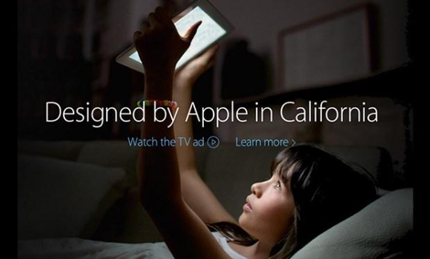 Designed by Apple in Californa