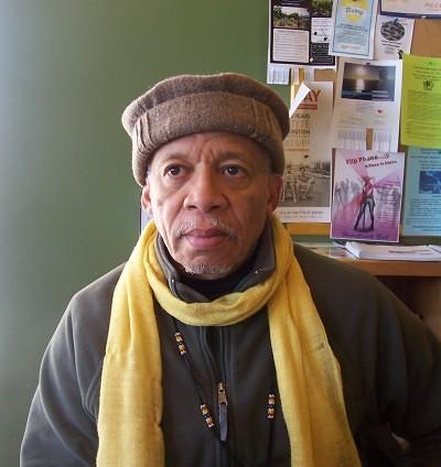 Louis Alemayehu is a community organizer for EJAM Photo by Jamal Denman