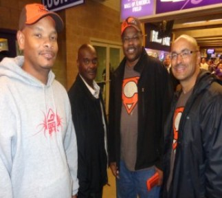L-R: KL Jones, C. Johnson, JT Jones, and C. Donaldson
