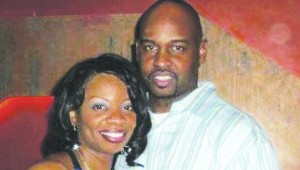 Karla Spencer-George and Anthony George