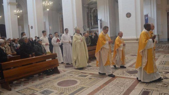 Celebrazioni di Natale nella Cattedrale di Spoleto