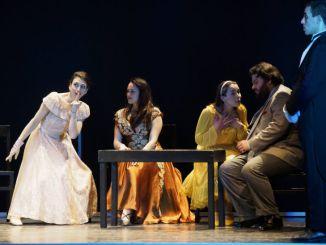 Compagnia dei giovani del TSU a Scatola Chiusa a Spoleto La tournée parte dal Teatro Caio Melisso di Spoleto