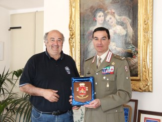 Spoleto, nuovo Comandante Brigata Paolo Raudino incontra Sindaco
