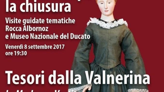 Mezz'ora dopo la chiusura a Spoleto, i Tesori della Valnerina