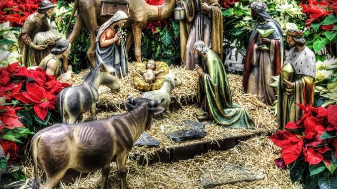 Pro Loco Spoleto, tenera innocenza, Gesù nella mangiatoia