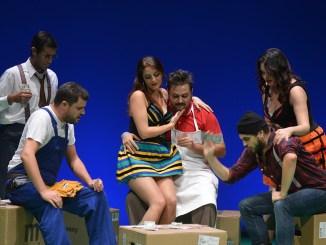 Mahagonny Songspiel cantanti del Tls a Prato, giovedì 21 marzo