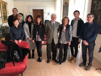Delegazione cinese di giornalisti e blogger ricevuta a Spoleto