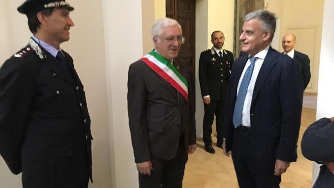 Prefetto di Perugia, Claudio Sgaraglia visita Spoleto, Campello e Castel Ritaldi