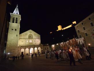 Celebrazione diocesana del Corpus Domini, Messa in Duomo a Spoleto