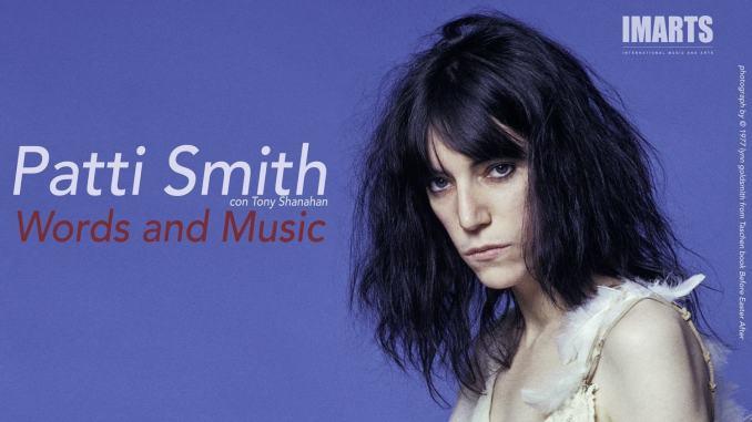 Tour di Patti Smith, concerto anche Spoleto, 3 dicembre 2019