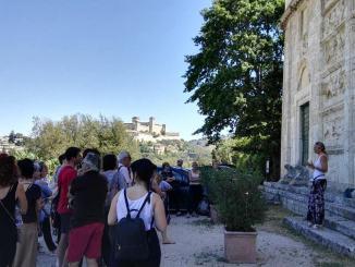 Spoleto Segreta e Sotterranea, più di cinquanta visitatori al primo appuntamento