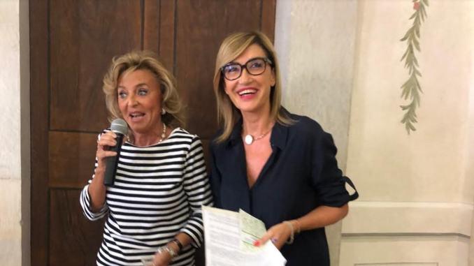 Primo evento, Woman Experience, Spoleto Norcia in MTB, taglio del nastro