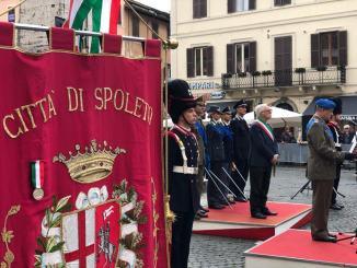 Celebrazioni 4 novembre, il discorso del sindaco de Augustinis