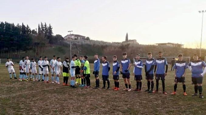 SSD Spoleto Calcio ha battuto, al Franchi di Montefalco, l'APD Collepieve 6-2