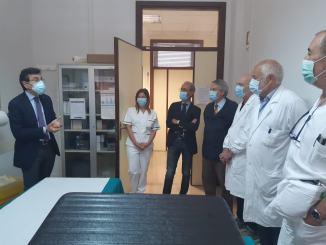 Sonda transesofagea ed ecocardiografo portatile al San Matteo degli infermi