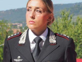 I nuovi ufficiali dell'Arma, chi è Teresa Messore, comanda Spoleto