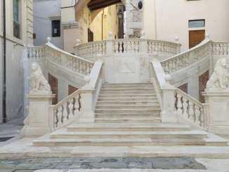 Conclusi lavori di restauro della scalinata di piazza Pianciani, dopo quasi quattro anni è nuovamente percorribile