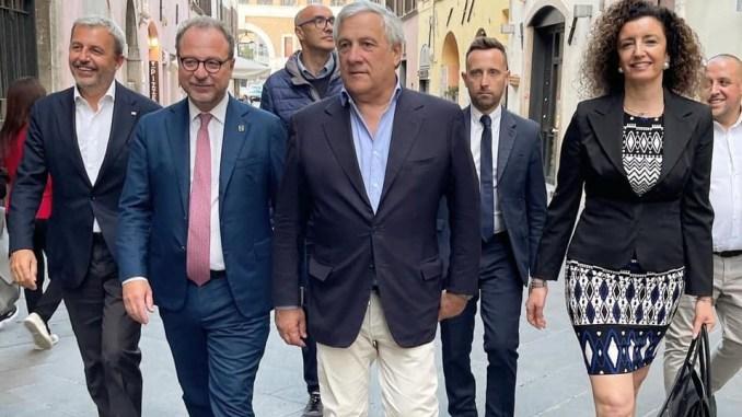 Forza Italia: Tajani e Mulè presentano il programma elettorale per Bececco sindaco di Spoleto