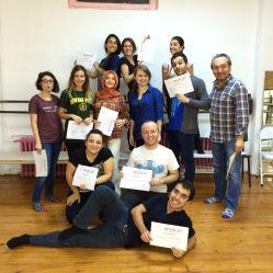 Kasim 2014 Ekibi sertifikalariyla