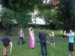 Improv in Central Park!