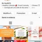 Cerco pubblicità sul mio profilo Instagram