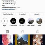 Offro pubblicita su instagram