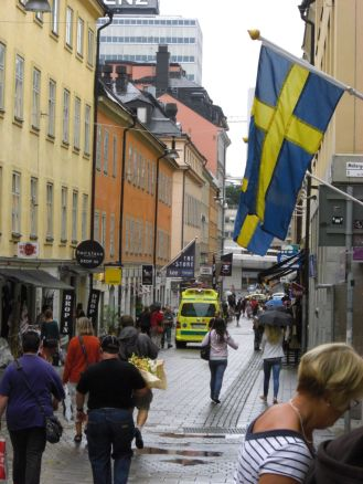 Stockholm 2008 - In der Innenstadt