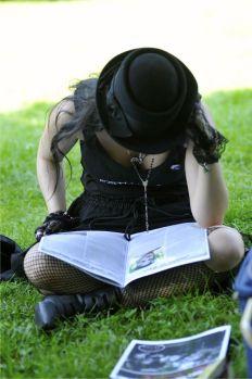 Eifrig wird gelesen - Tobi