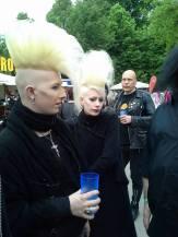 Toll, die beiden Berliner. Wir haben uns großartig mit ihnen unterhalten.