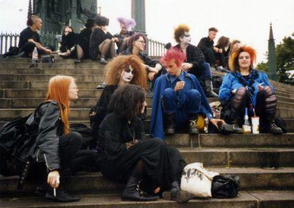 Berlin und Besucher 1993