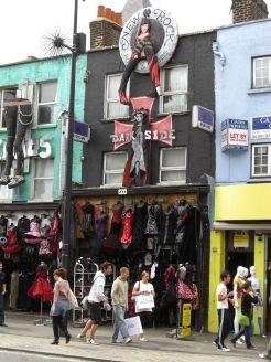 Das Dark Siden in Camden Town 2009. Teuer, aber gruftig.