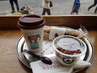 Frühstück in Kentish Town.