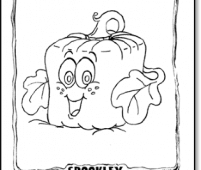Coloring And Activity Spookley The Square Pumpkin