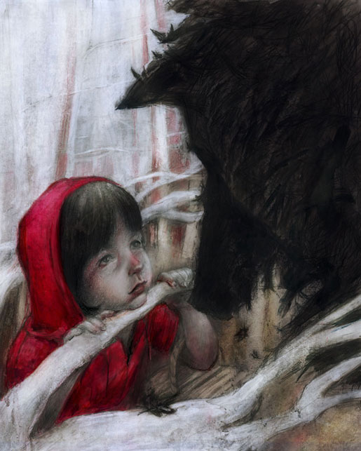 Little Red Riding Hood--The First Encounter