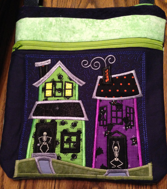 Handmade Halloween Purses by Susie's Sewing