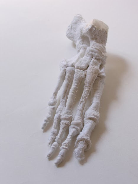 Karine Jollet anatomical fabric sculpture