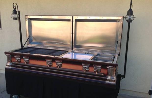 Coffin grill