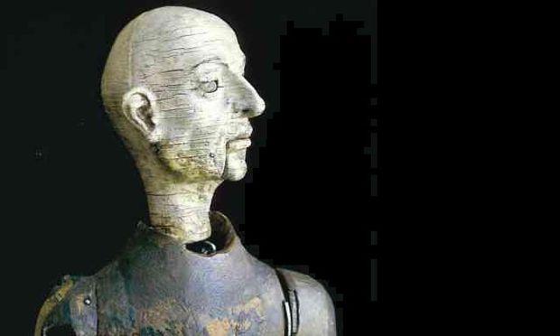 453-Year-Old Clockwork Monk