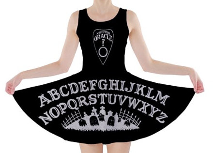 Very sad the sizes are so small on this skater dress by Stuff of the Dead
