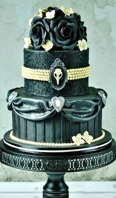 A collection of dark cakes from Gothic Life.