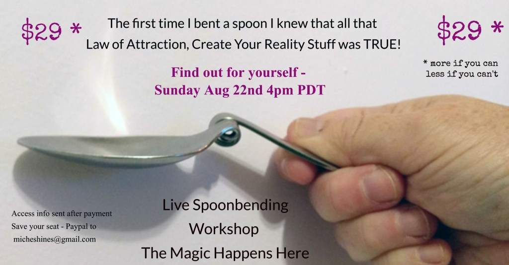 Spoonbending Workshop Invitation