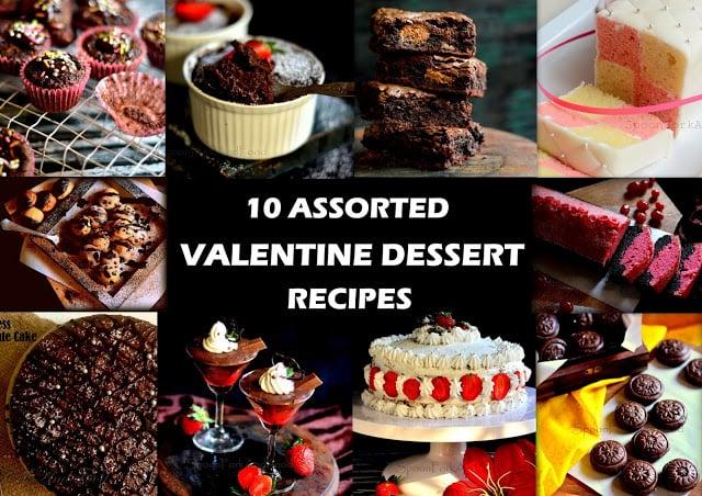 Assorted Dessert Recipes