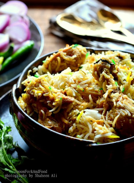 Lucknowi murg biryani awadhi chicken biryani recipe spoon fork i wish to die with a mouth full of biryani for me there can be no love than biryani love the one craziest stuff that makes me go super crazy for forumfinder Image collections