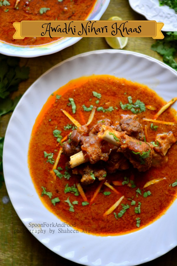 Awadhi khaas nihari slow cooked mutton stew with bone marrow for Awadhi cuisine dishes