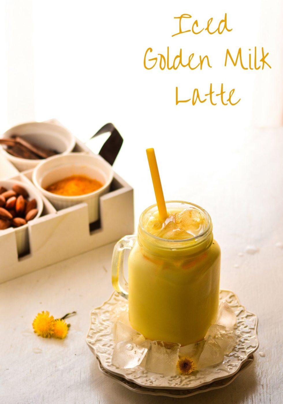 Iced Golden Milk Latte