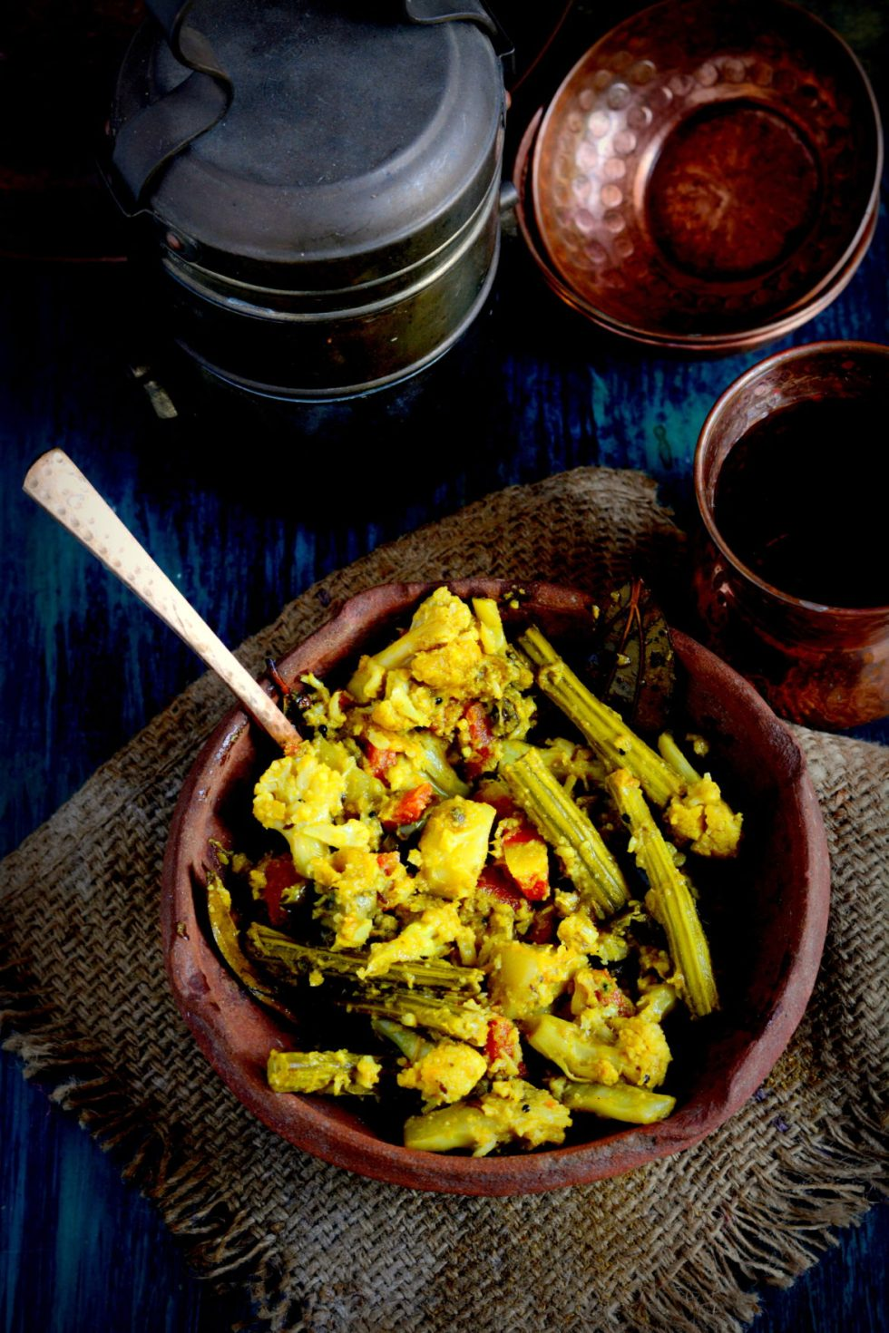 Labra - Bengali Mix Vegetable Offered In Bhog